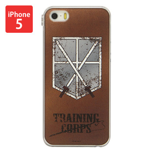 Jacket for iPhone 5&5s Attack on Titan Training Corps