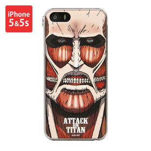 Jacket for iPhone 5&5s Attack on Titan Colossal Titan