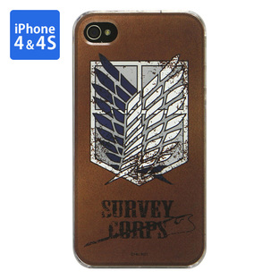Jacket for iPhone 4&4s Attack on Titan Survey Corps