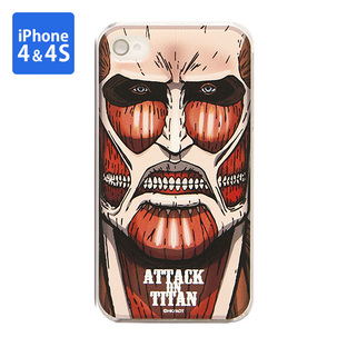 Jacket for iPhone 4&4s Attack on Titan Colossal Titan