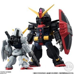FW GUNDAM CONVERGE HONG KONG CITY BATTLE SET (GUNDAM Mk-II FULL WEAPON SET/PSYCHO GUNDAM) 2 IN 1SET [2017年11月發送]