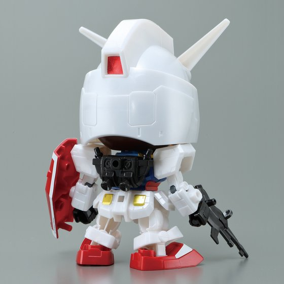 BABY MILO & RX-78-2 GUNDAM [SD EX-STANDARD] [May 2018 Delivery]