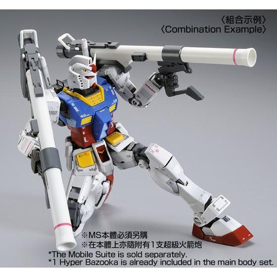 【C3 AFA 2017 Online Campaign 2.0】 MG 1/100 CUSTOM SET for MG RX-78-2 GUNDAM Ver.3.0
