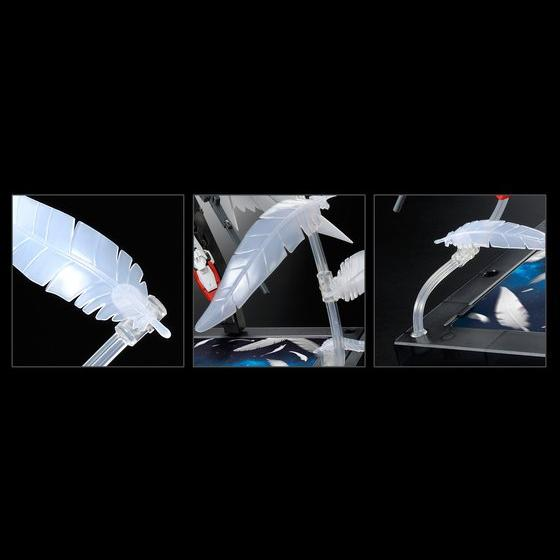 """RG 1/144 EXPANSION EFFECT UNIT """"SERAPHIM FEATHER"""" for WING GUNDAM ZERO EW [July 2021 Delivery]"""