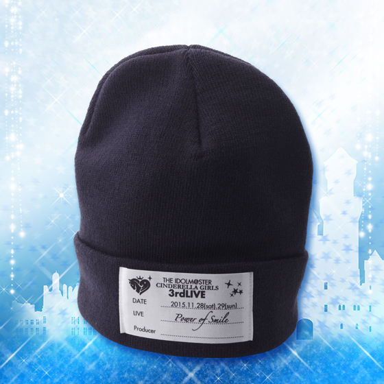 THE IDOLM@STER CINDERELLA GIRLS 3rdLIVE TOUR Knited Cap