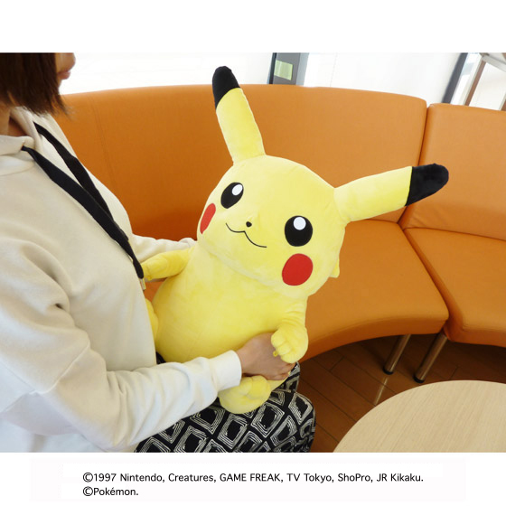 PC CUSHION PIKACHU [September 2017 Delivery]