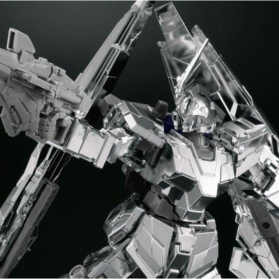 HG 1/144 UNICORN GUNDAM 03 PHENEX type RC [UNICORN MODE] SILVER COATING Ver.