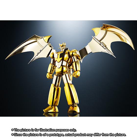 SUPER ROBOT CHOGOKIN SHIN MAZINGER Z GOLD Ver.