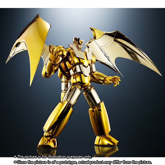 SUPER ROBOT CHOGOKIN SHIN MAZINGER Z GOLD Ver  | PREMIUM