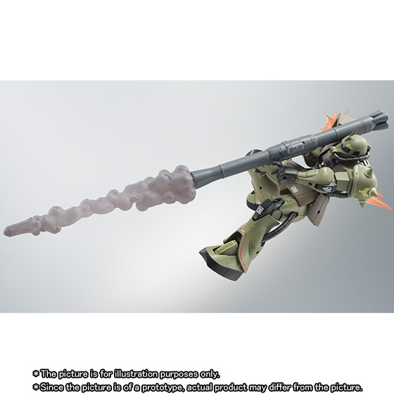 THE ROBOT SPIRITS 〈SIDE MS〉 MS-06 ZAKUII MASS PRODUCTION MODEL ver. A.N.I.M.E. -Real Type Color-