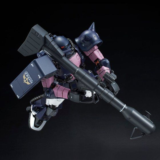 RG 1/144 MS-06R-1A BLACK TRI-STARS ZAKU II