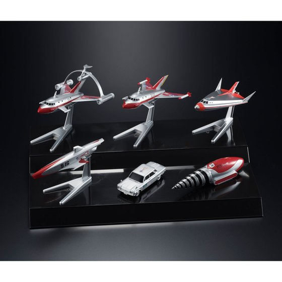 MECHA COLLECTION ULTRAMAN SERIES SCIENCE SPECIAL SEARCH PARTY SET [EXTRA FINISH] [February 2018 Delivery]