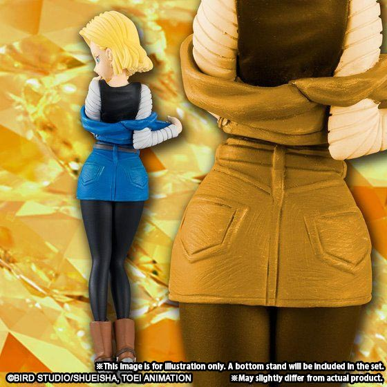 HG GIRLS BULMA / HG GIRLS ANDROID NO. 18 [April 2018 Delivery]