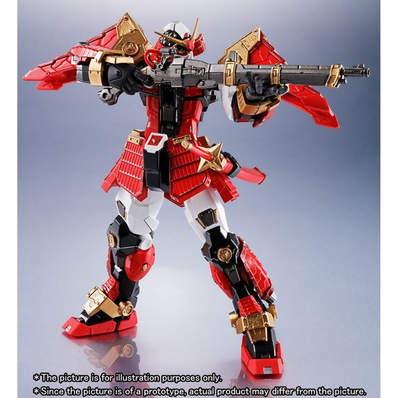 METAL ROBOT SPIRITS 〈SIDE MS〉 MUSHA GUNDAM