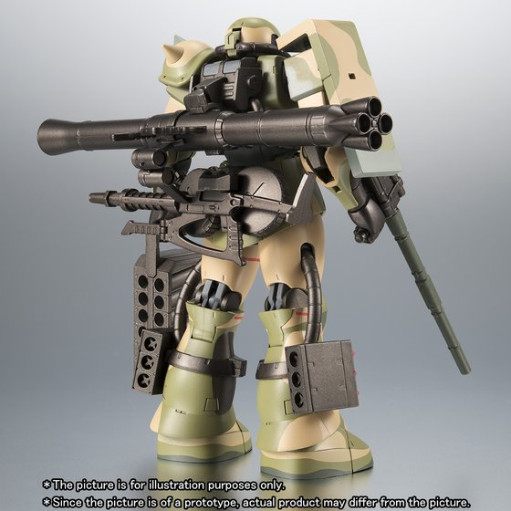 THE ROBOT SPIRITS 〈SIDE MS〉 MS-06J ZAKU II WETLAND TYPE ver. A.N.I.M.E.