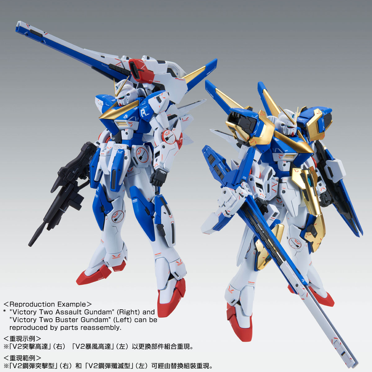 MG 1/100 VICTORY TWO ASSAULT BUSTER GUNDAM Ver Ka | PREMIUM