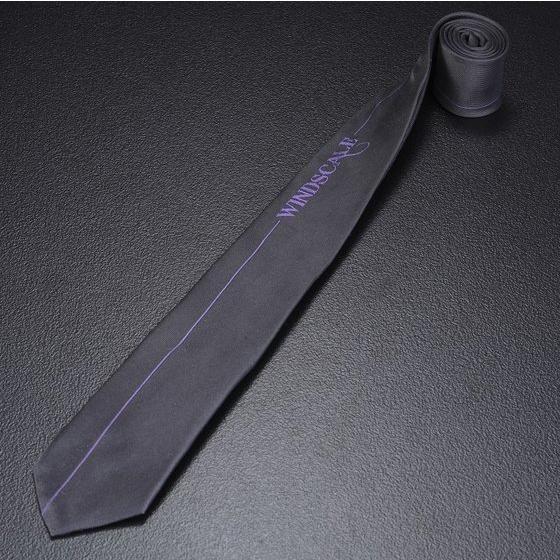 Kamen Rider W Joker Color Necktie (Logo)
