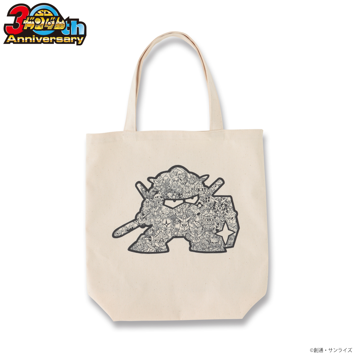 SD Gundam 30th Anniversary Tote Bag