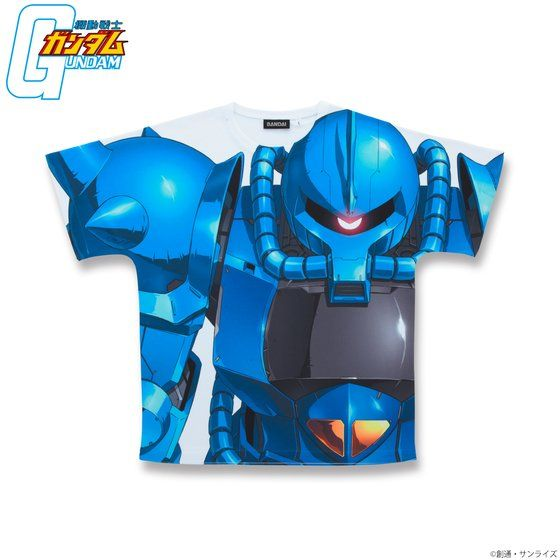 GUNDAM Full Panel T-shirt MS-07B