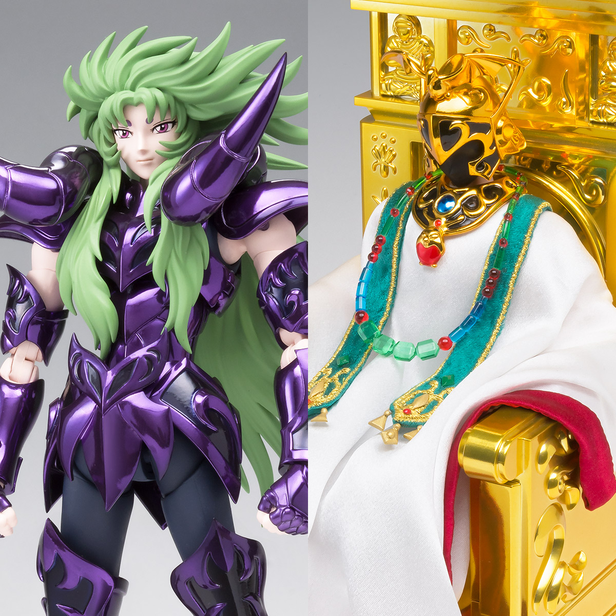 SAINT CLOTH MYTH EX Aries Shion (Surplice) & The Pope Set