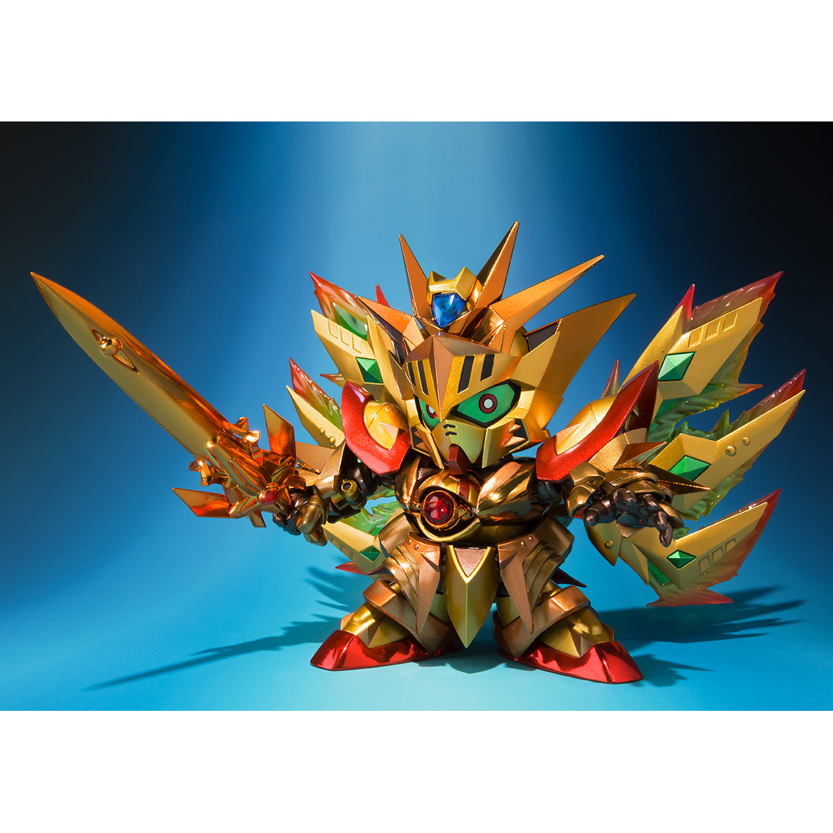 SDX Solar Knight God Gundam MeikyoShisui Gold Version