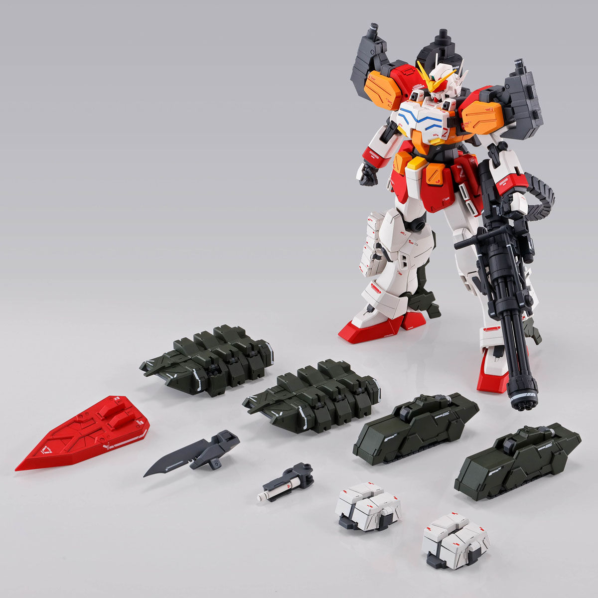 MG 1/100 GUNDAM HEAVYARMS EW (IGEL UNIT) [Feb 2020 Delivery]