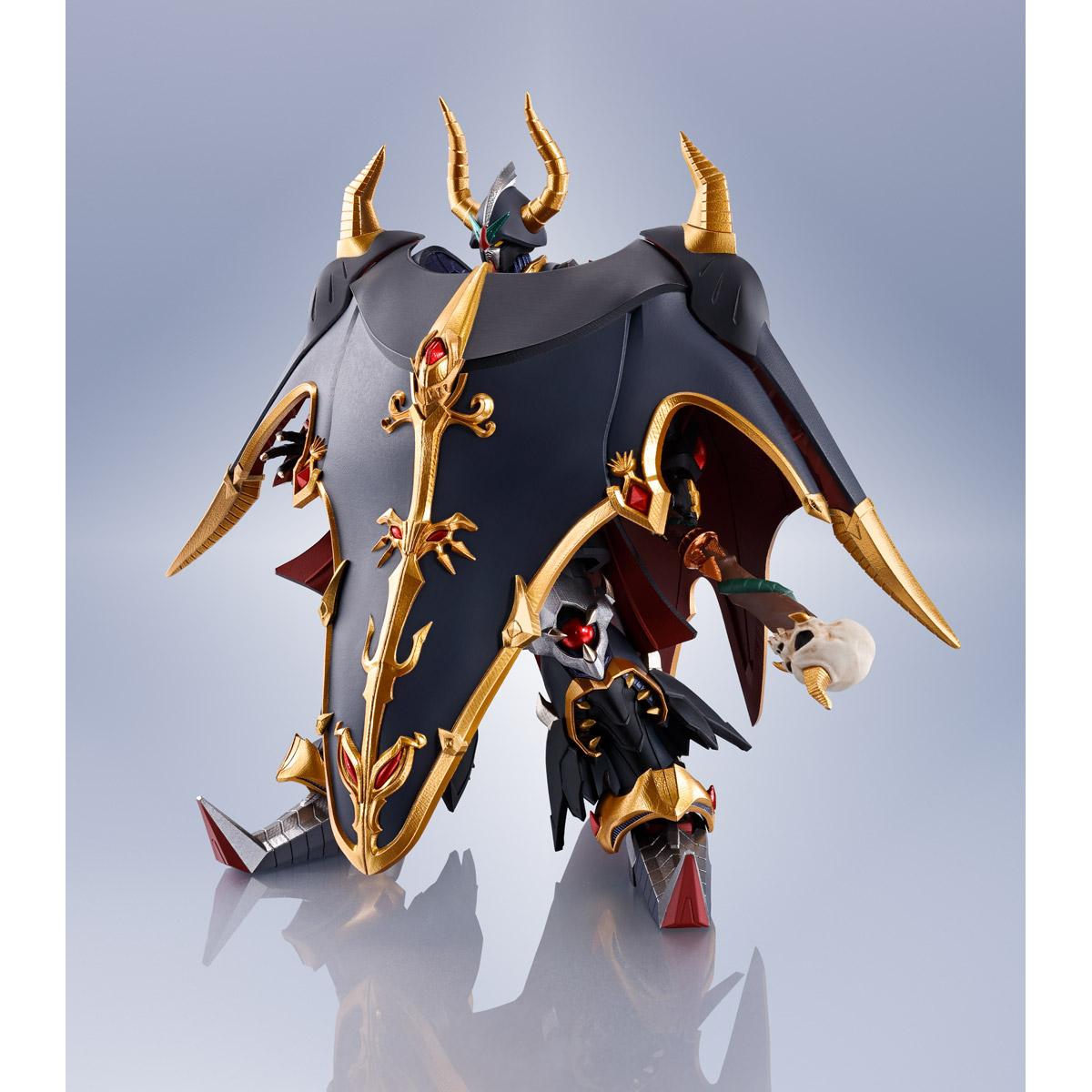 METAL ROBOT SPIRITS <SIDE MS> SATAN GUNDAM=MONSTER BLACK DRAGON(Real Type ver.)
