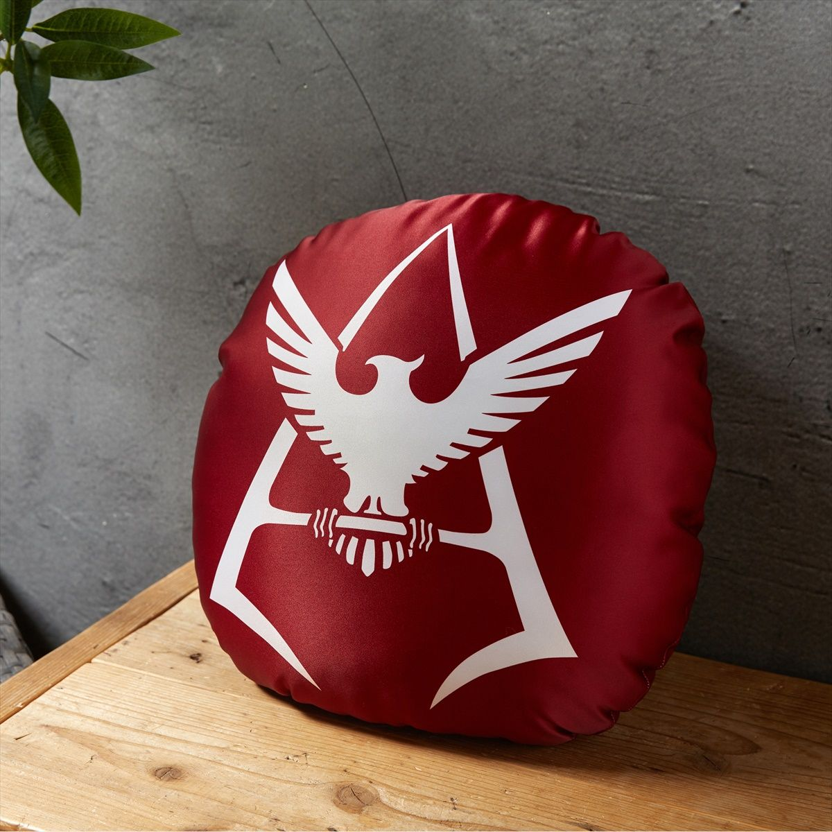Mobile Suit Gundam Char Aznable Logo Pillow