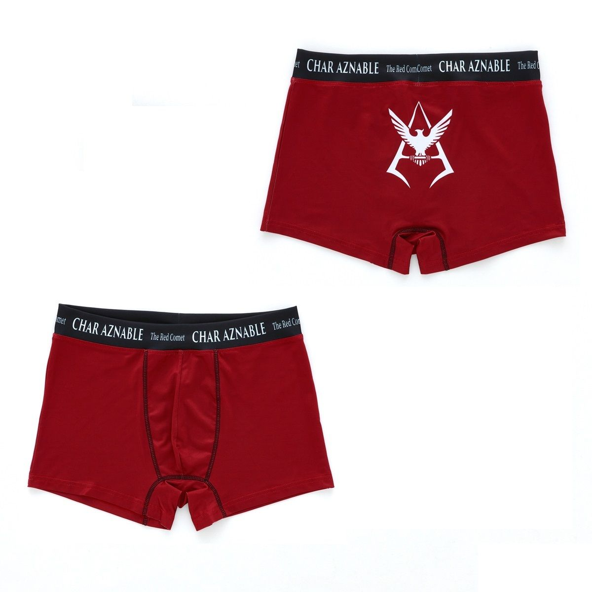 Mobile Suit Gundam Char Aznable Logo Boxer Shorts