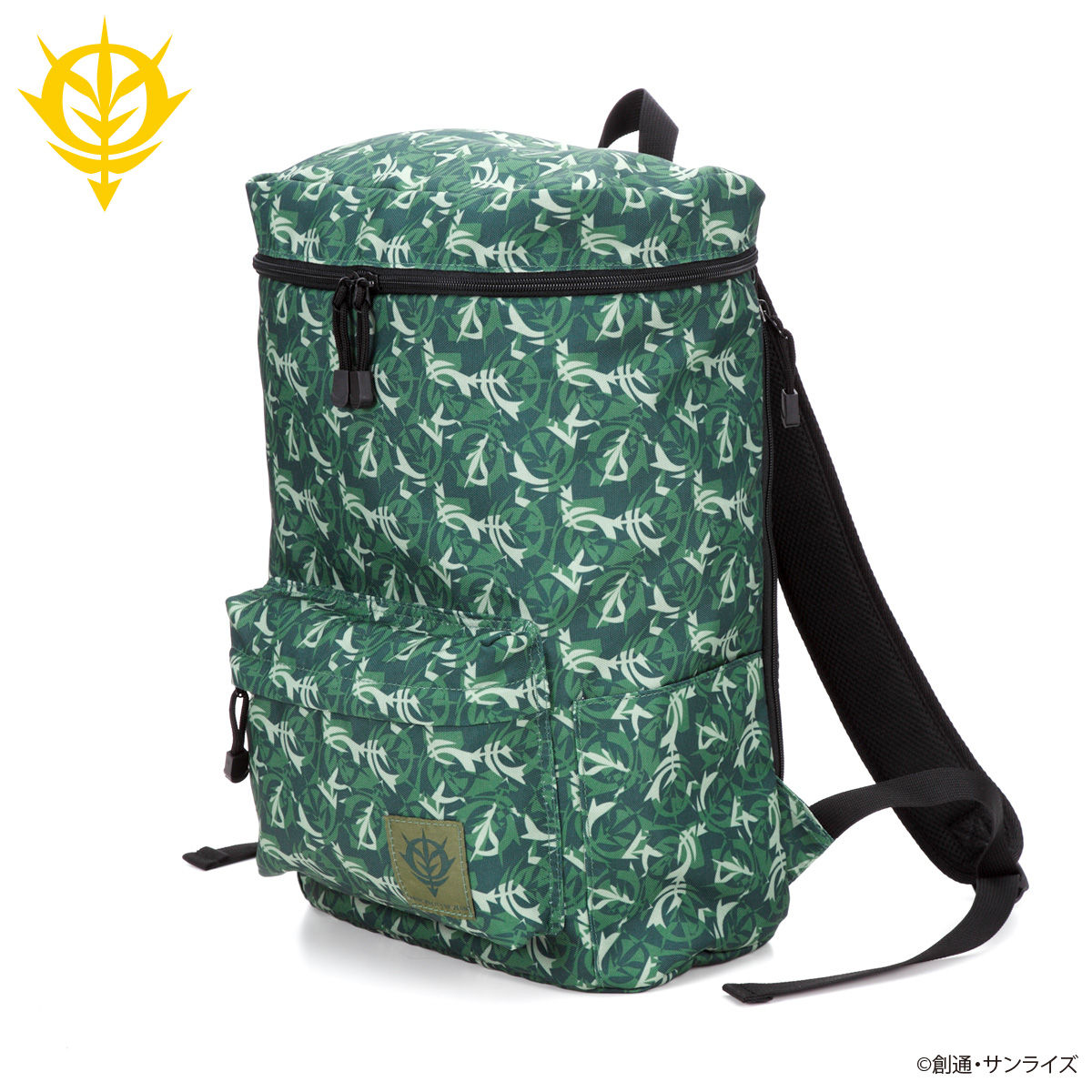 Mobile Suit Gundam Camouflage Backpack