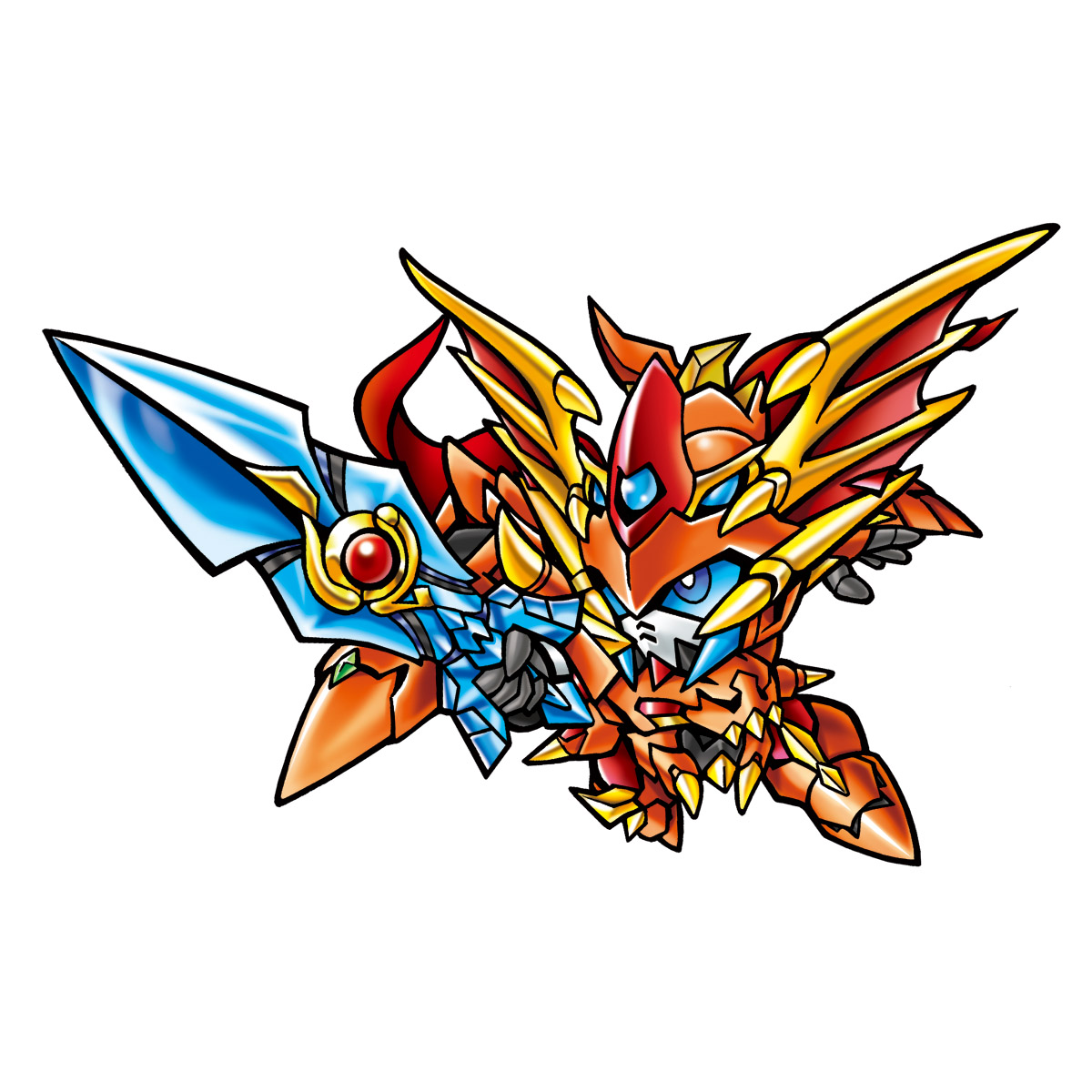 SD GUNDAM GAIDEN SUPERIOR SAGA 2nd