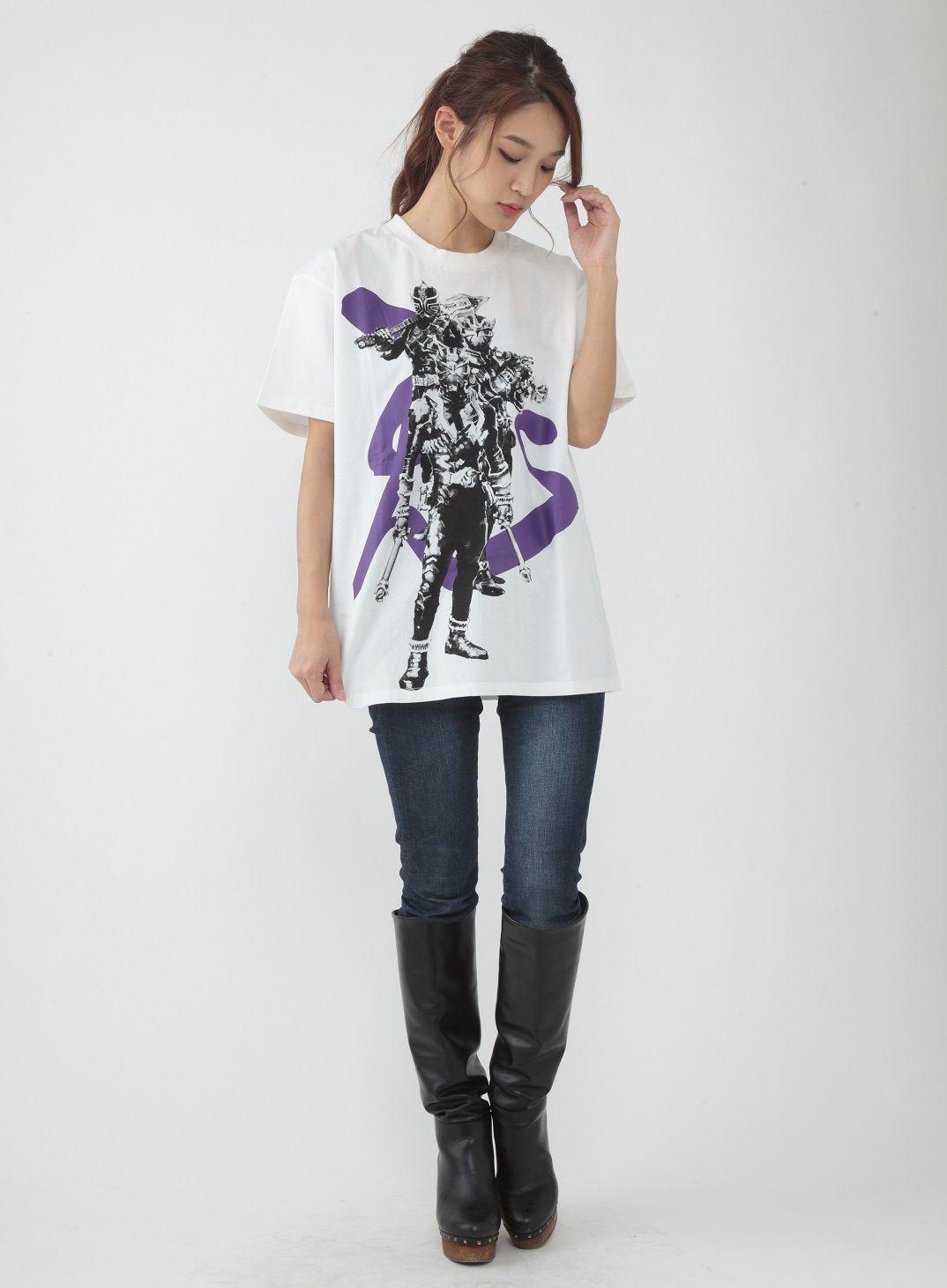 Sugahara Yoshihito Project Kamen Rider Hibiki Tshirt Hibiki Ibuki Todoroki