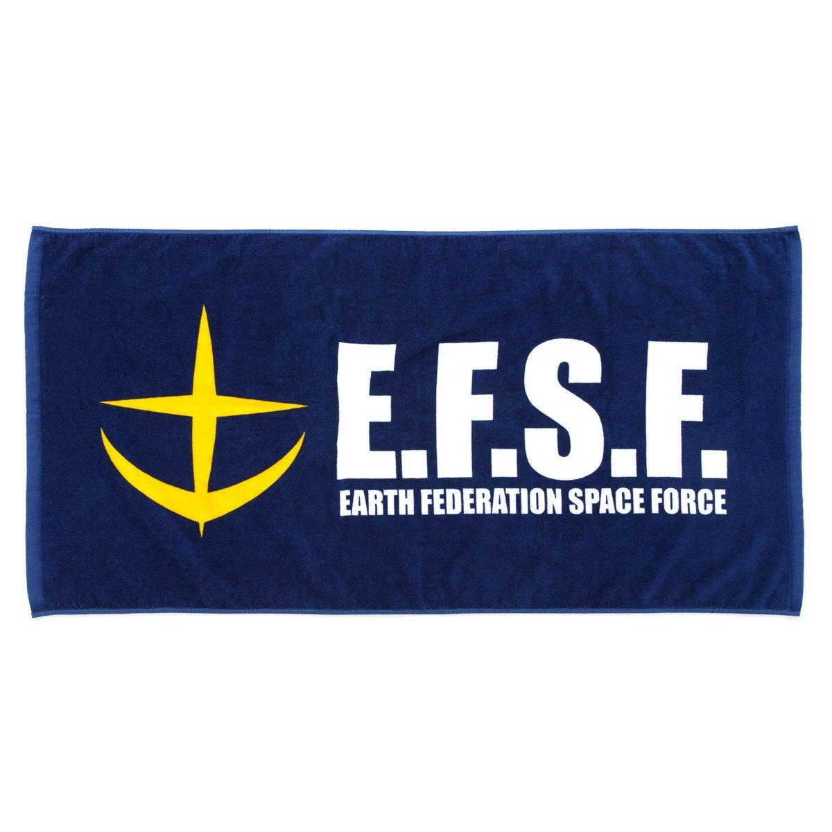 Mobile Suit Gundam Earth Federation Space Force Bath Towel