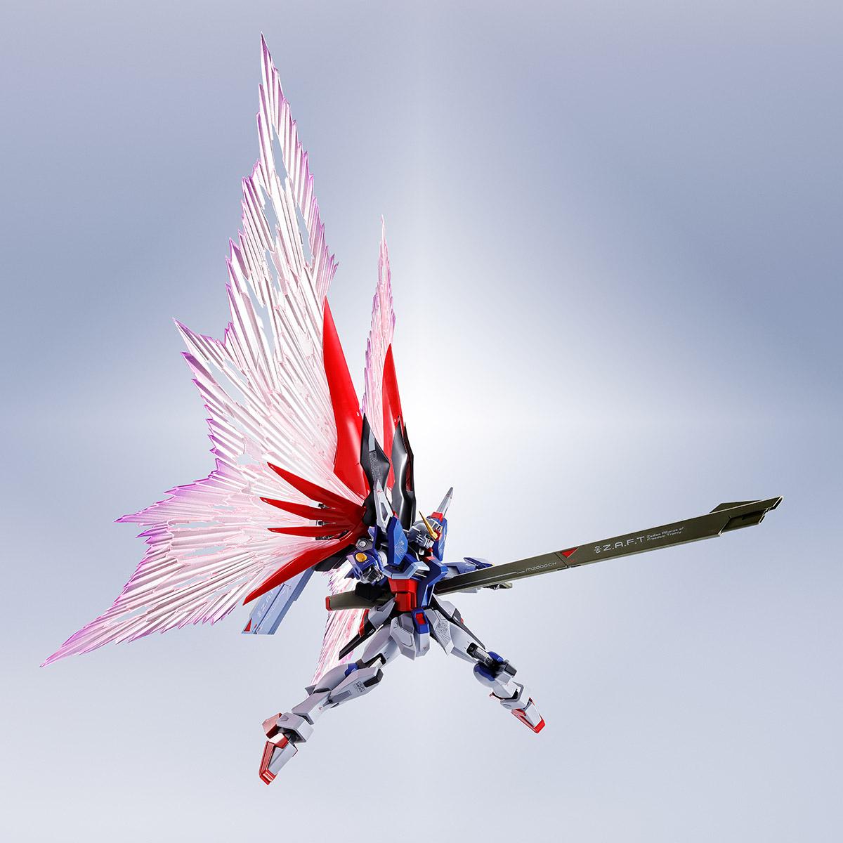 METAL ROBOT SPIRITS <SIDE MS> WING OF LIGHT&EFFECT SET For DESTINY GUNDAM