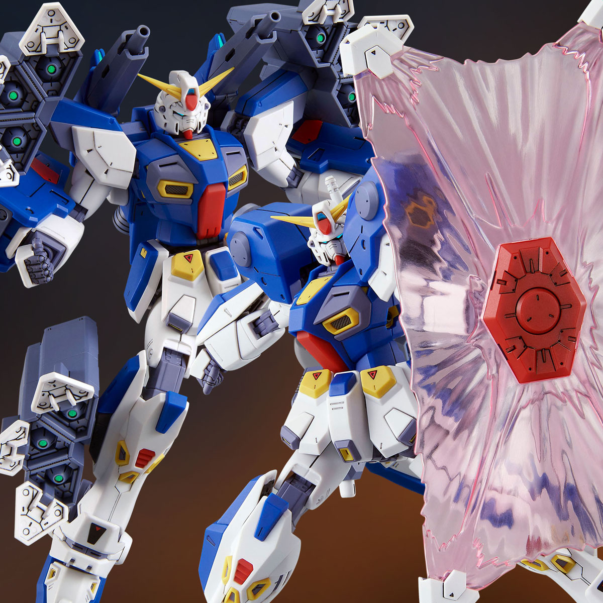 MG 1/100 MISSION PACK B-TYPE & K-TYPE for GUNDAM F90 [Aug 2020 Delivery]