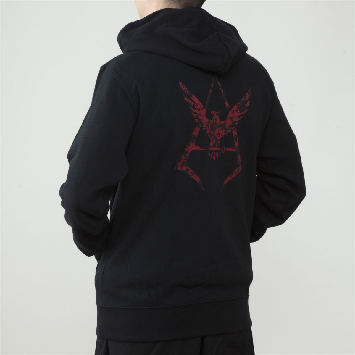 Mobile Suit Gundam Camouflage Pattern Char Aznable Emblem Hoodie