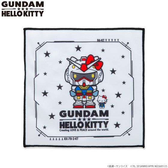 Mini Towel—Gundam vs Hello Kitty Reconciliation Project