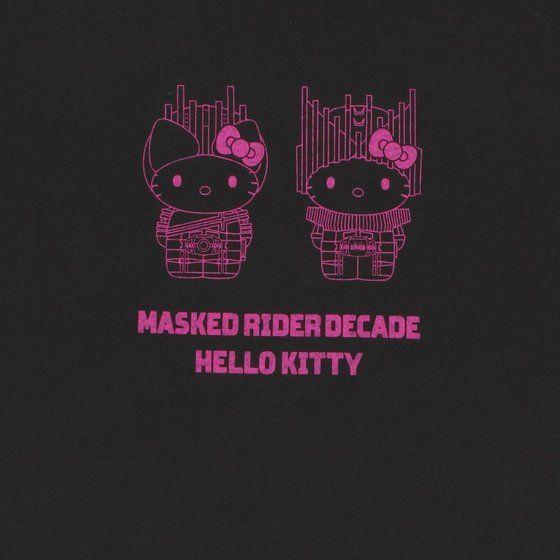 T-shirt—Kamen Rider Decade/Hello Kitty Collaboration