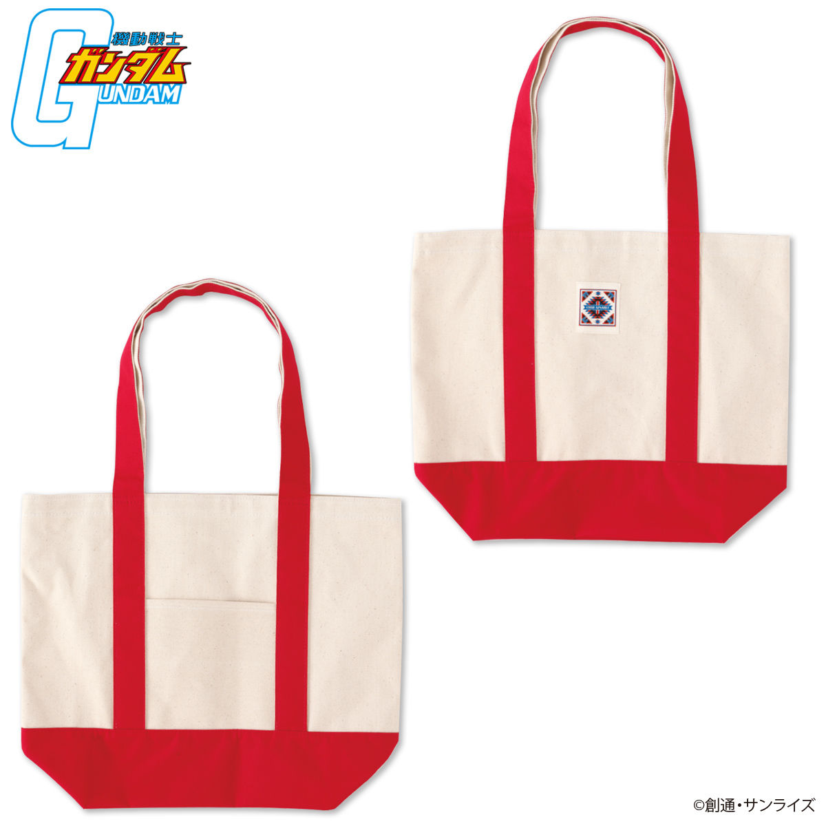 South-Western Style Tote Bag—Mobile Suit Gundam