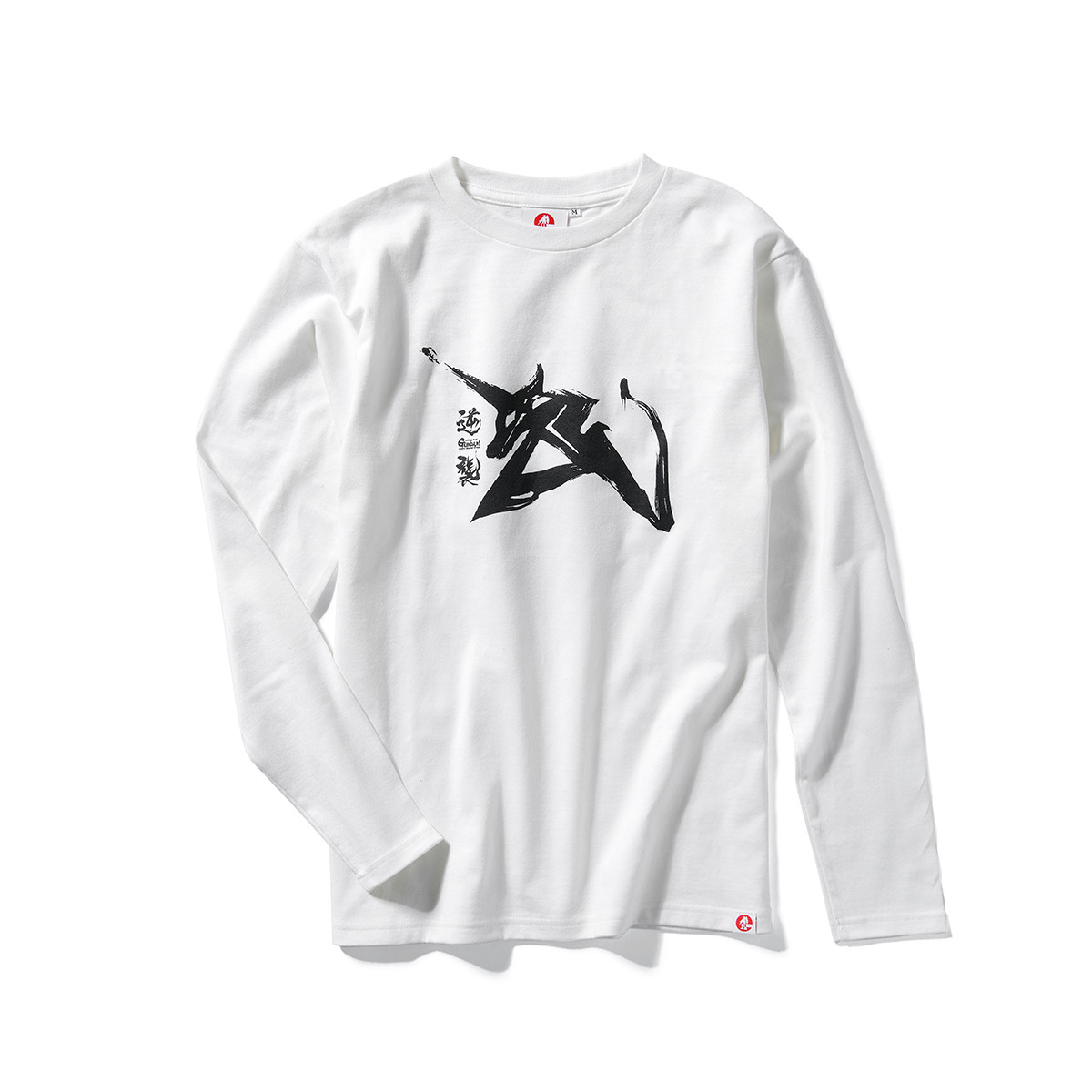 Amuro Ray Emblem Long-Sleeve T-shirt—Mobile Suit Gundam: Char's Counterattack/STRICT-G JAPAN Collaboration