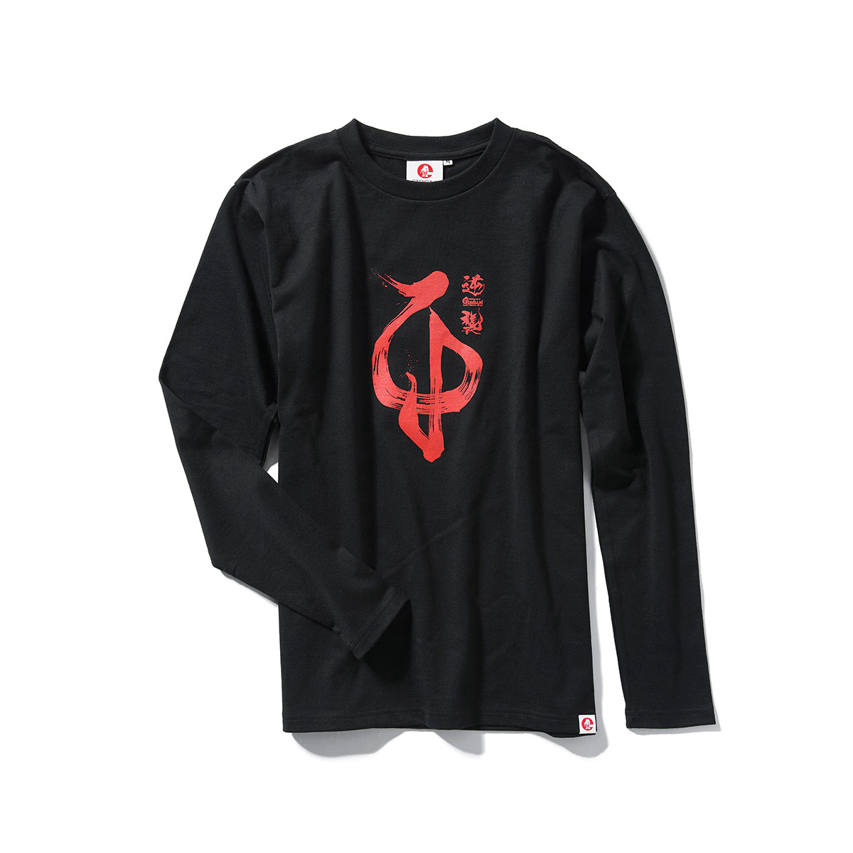 Char Aznable Emblem Long-Sleeve T-shirt—Mobile Suit Gundam: Char's Counterattack/STRICT-G JAPAN Collaboration