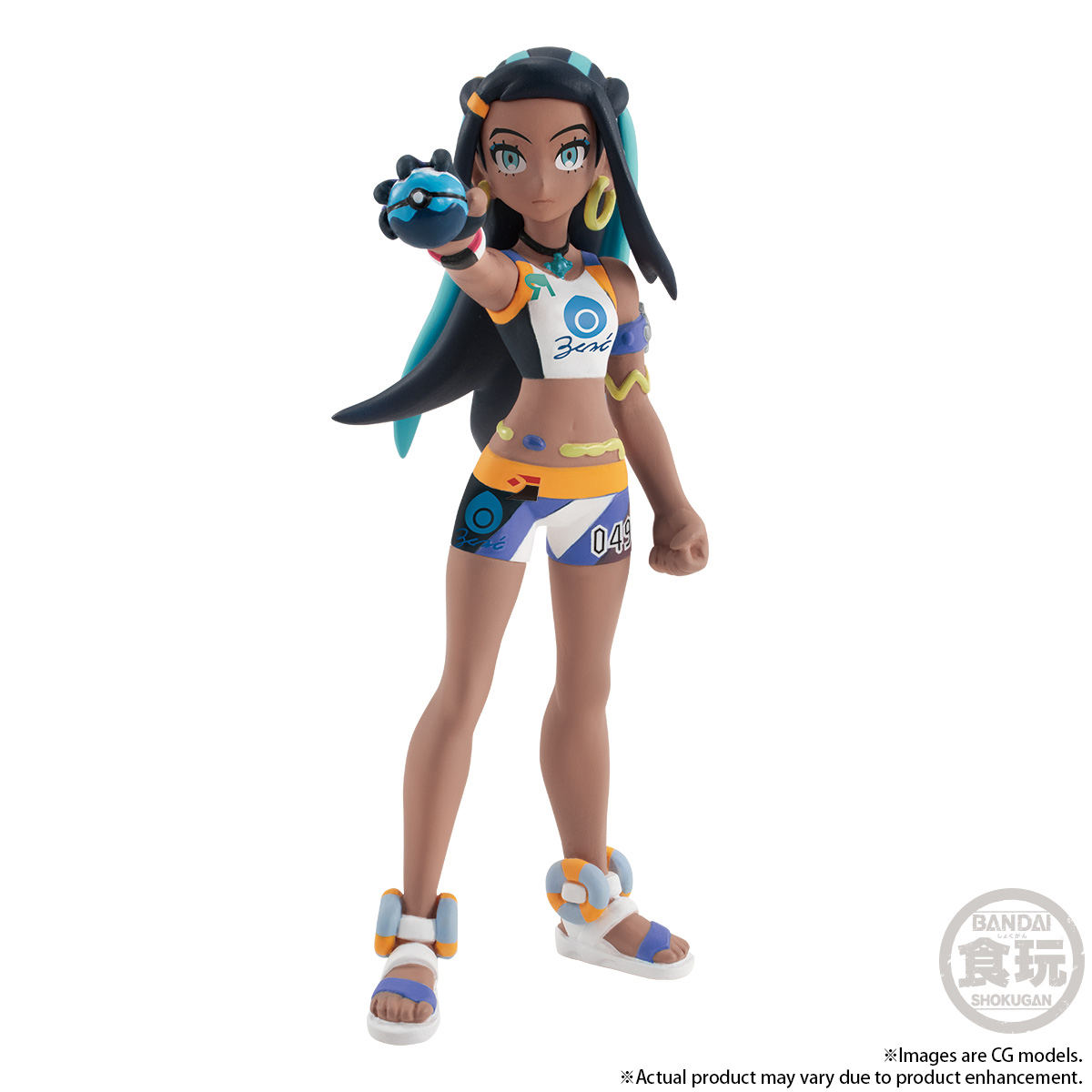 POKEMON SCALE WORLD GALAR NESSA & DREDNAW W/O GUM