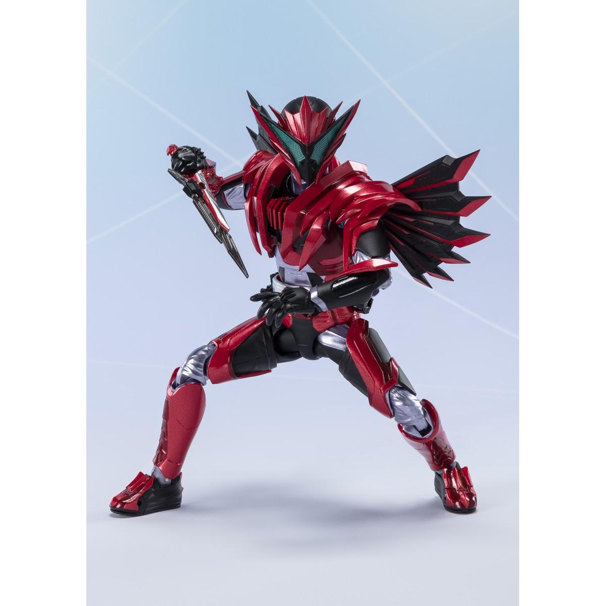 150mm Japan Pre Sale BANDAI S.H.Figuarts Kamen Rider Jin Burning Falcon Approx