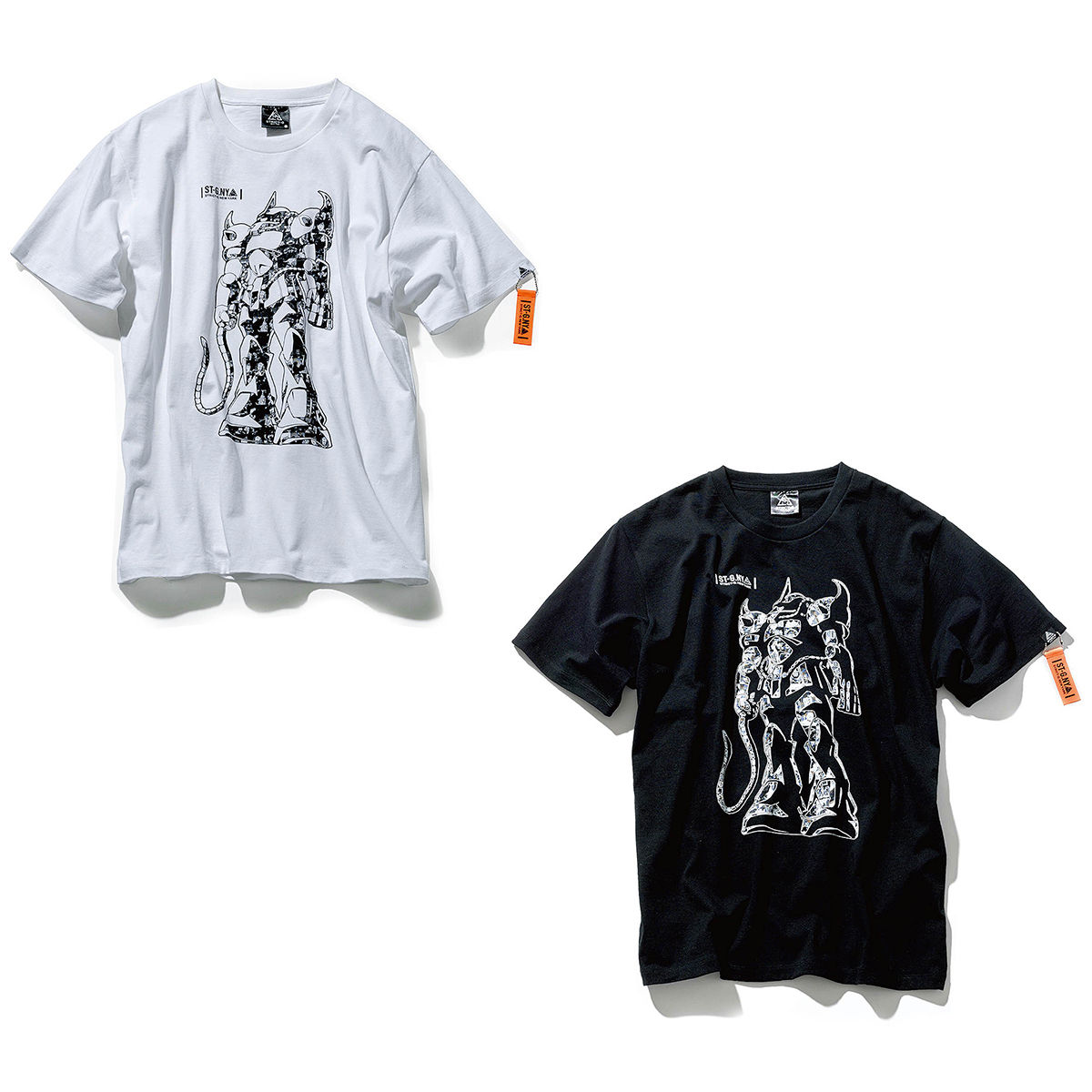 Gouf Collage T-shirt—Mobile Suit Gundam/STRICT-G NEW YARK Collaboration