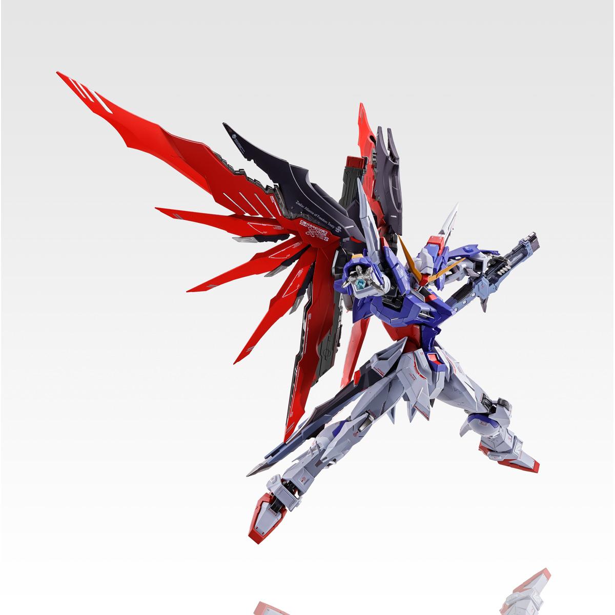 from Japan BANDAI METAL BUILD Destiny Gundam SOUL RED Ver