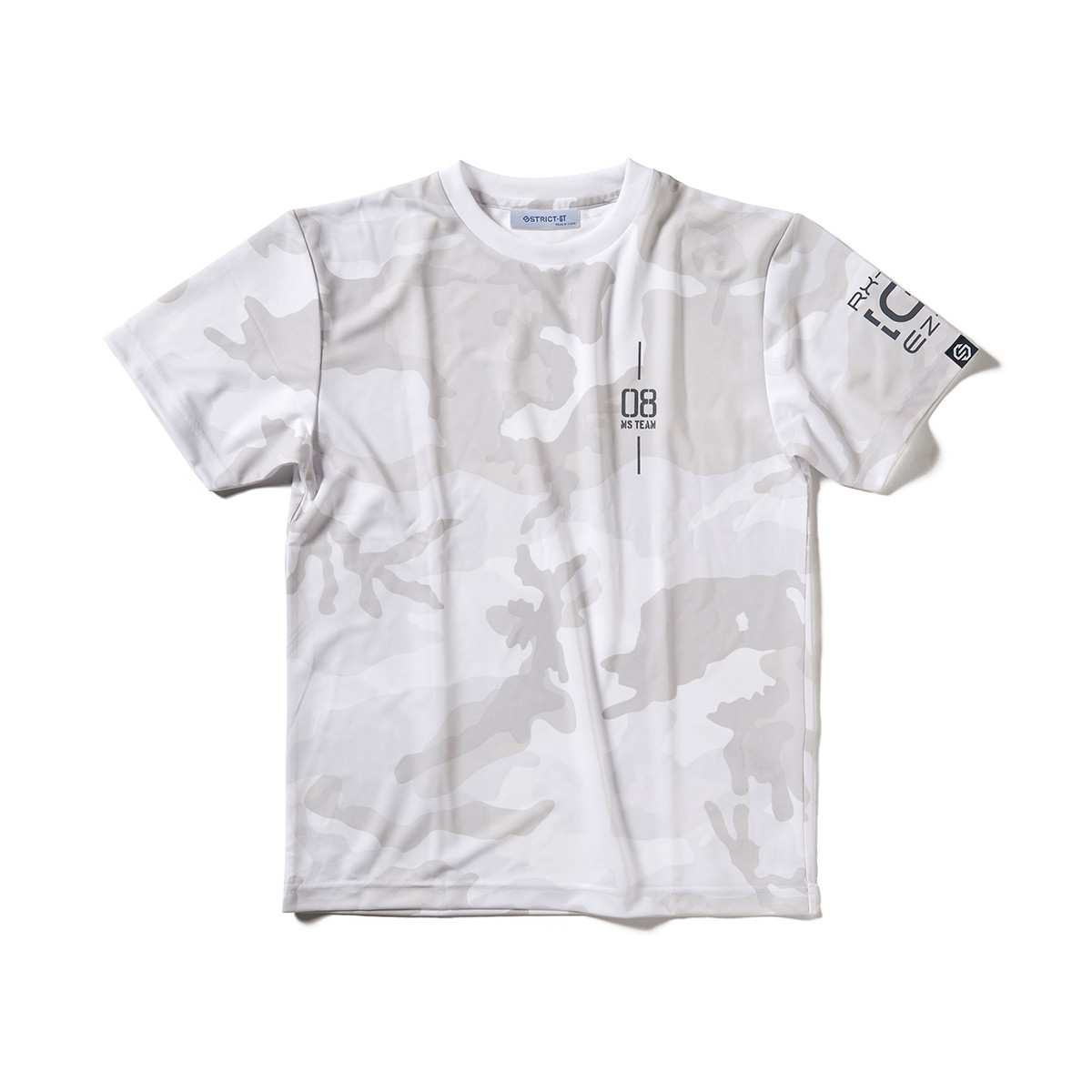 Camouflage Quick-Drying T-shirt—Mobile Suit Gundam: The 08th MS Team/STRICT-G Collaboration