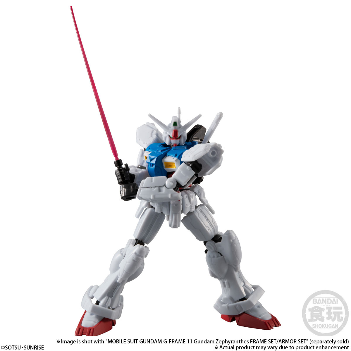 MOBILE SUIT GUNDAM G-FRAME GUNDAM GP01 & GUNDAM GP02A OPTION PARTS SET W/O GUM
