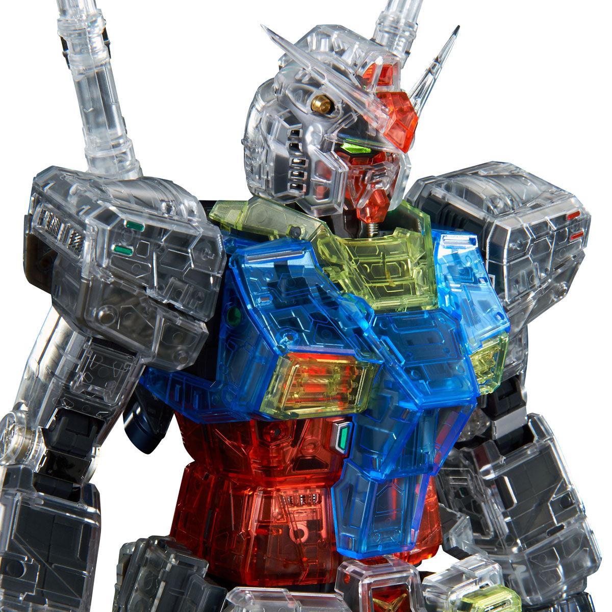 PG UNLEASHED 1/60 CLEAR COLOR BODY FOR RX-78-2 GUNDAM [Jun 2021 Delivery]