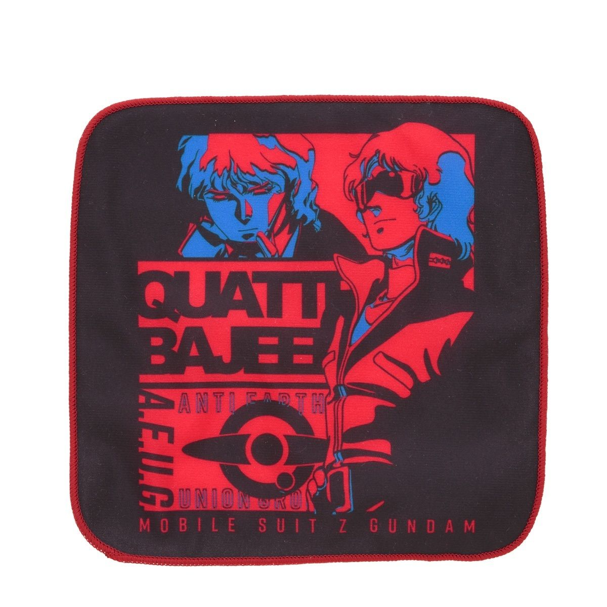 Mobile Suit Zeta Gundam Quattro Bajeena Tricolor-themed Handkerchief