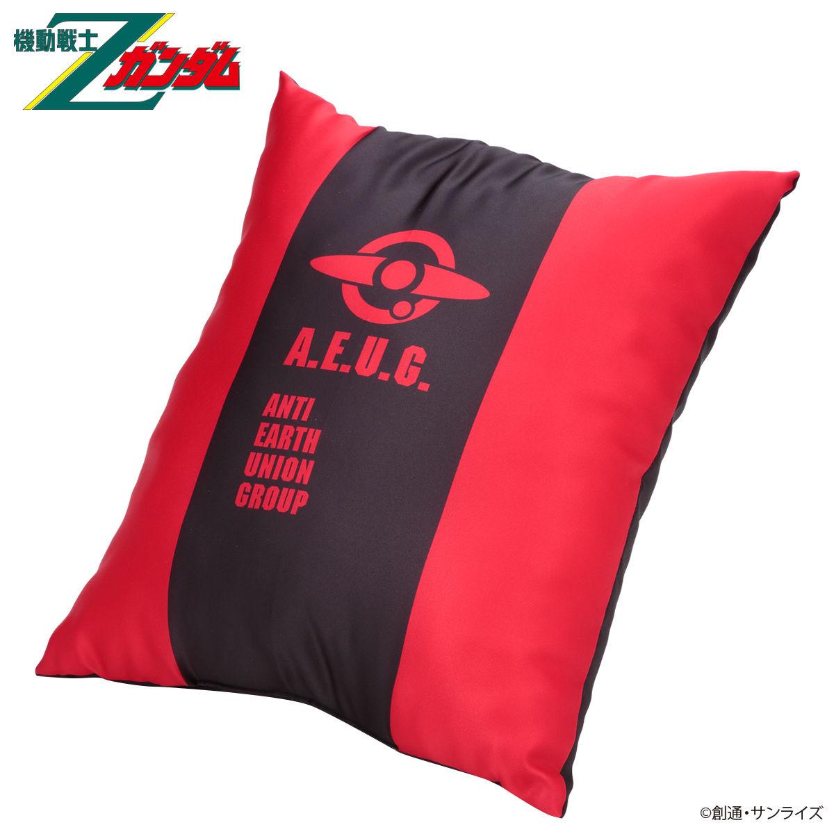 Mobile Suit Zeta Gundam Quattro Bajeena Tricolor-themed Pillow